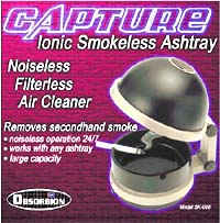 Capture Ionic Smokeless Ashtray.