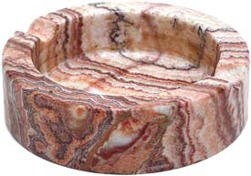 Beautiful Navaho03 marble ashtray for cigarette and cigars