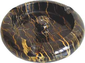 Beautiful Nebula01 Marble Ashtray for Cigars or Cigarettes