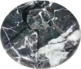 Orion05 Round Marble Ashtray